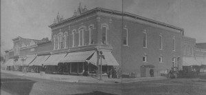 Downtown around 1910