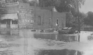 Flood Aug. 19, 1924