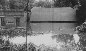 Flood Old Jail Aug. 19, 1924