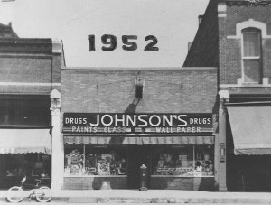 Johnsons Drug Store 1952
