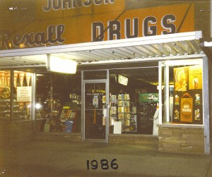 Johnsons Drug Store 1986