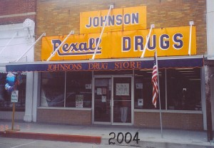 Johnsons Drug Store 2004