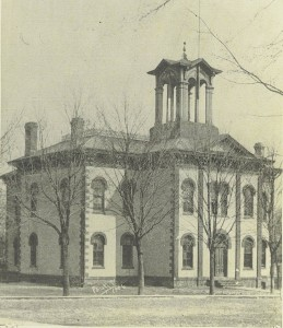 Old South Side School Wyoming 1906