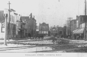 Williams St. Looking West 1906