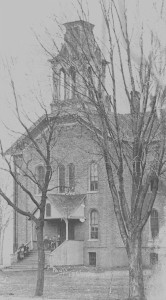 Wyoming Old North School 1906