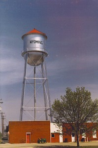 Wyoming Water Tower